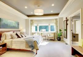 view in gallery ceiling tray lighting