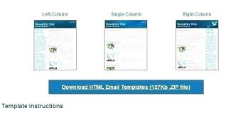 Outlook 2010 Templates Download Free Outlook Html Email Template