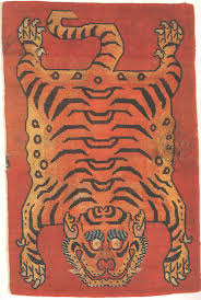 full pelt tiger rug compare to above new tiger rug by tibet rug company