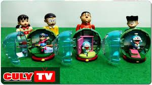 đồ chơi Doremon hài | Nobita bán trứng khủng long Xuka bóc trứng bất ngờ  Doraemon surprise egg - YouTube