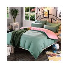 1pcs super soft polyester duvet cover solid color reactive printing comforter cover twin full queen king size color baolanhui size 180cmx220cm