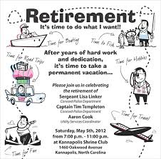 Free Retirement Announcement Flyer Template 12 Retirement Party Flyer Templates To Download Ai Psd Docs