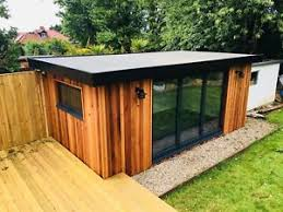 outside office shed. Garden Office ,studio,gym,spare Room, Man Cave,Plans And Drawings Outside Shed A