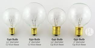 G30 Bulb Size Chart Light Bulb Socket Guide Info On Sizes Types Shapes