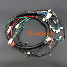 popular atv wire harness buy cheap atv wire harness lots from electric start wire loom wiring harness 200cc 250cc 300cc atv quad bike buggy go kart