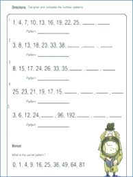Arithmetic Sequence Worksheet Answers Arithmetic And Geometric Sequence Worksheet Propertyrout Com