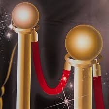night hollywood themed party down the red carpet scene setters wall decorating