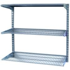 wall mounted shelving image 1 storability 34 in w x 32 in h x 16 in d steel