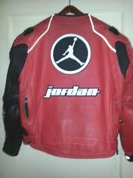 us joe rocket michael air jordan 23 leather red black motorcycle jacket 42 large l