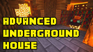 How To Make A Underground House Minecraft Advanced Underground House Base Tutorial Xbox Pc Pe Ps3