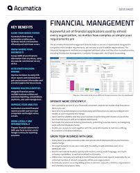 Access Financial Management Financial Management Suite