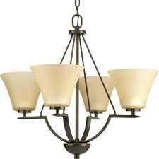progress lighting bravo collection antique bronze 4light chandelier light fixtures22