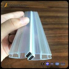 pvc sealing strip glass shower door seal strip