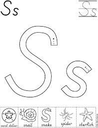 fdff8701eedecba748cd27d318660b50 alphabet letter s activity worksheet d'nealian preschool on teaching alphabet letters to pre k children printable