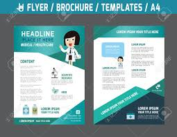 Flyer Multipurpose Design Vector Template In A4 Size Templates