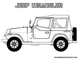 jeep cherokee coloring page free grand un jeep colouring pages