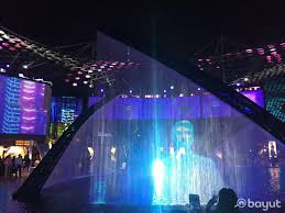 a show at the central plaza of city walk remended by bayut