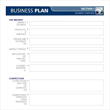 Downloadable Business Plan Template Business Plan Template In Microsoft Word Free Business Plan Template