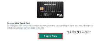 Merrick bank double your line™ platinum visa® credit card. Merrick Credit Card Review And Application Process Gadgets Right