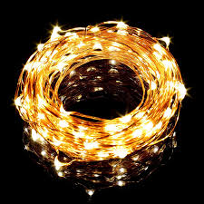 Warm White Led String Lights White Wire 33ft 10m Copper Wire Led String Lights 100 Leds Cool Warm