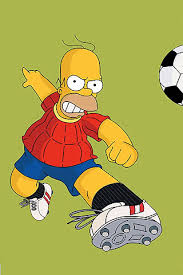 Homer Soccer Player IPhone Wallpaper And IPod Touch Background