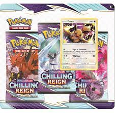 Pokemon 3-pack Boosters - Sword & Shield Chilling Reign