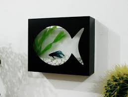 Betta Art Decorative Fish Bowl Modern Betta Fish Tank Aquarium Desktop aquarium or Wall 17