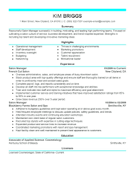 Resume: Salon Resume Hair Stylist Cover Letter Objective Samples ...