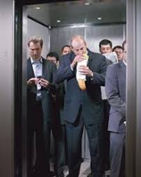 people in elevator. elevators are tricky places. there times when rules and regulations clearly need to be enforced, particularly i\u0027m in them at some ungodly hour, people elevator