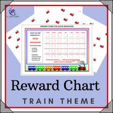 Reward Chart Train Themes By All Therapy Resources Tpt