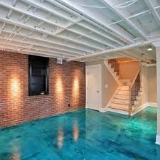 painted basement ceiling. Best Of Painting Basement Ceiling And Brick Veneer Walls For Painted