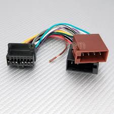 panasonic car radio stereo 16 pin wire wiring harness 2 ebay,car Pioneer 16 Pin Wiring Harness pioneer 16pin iso car stereo audio wire connector new ebay pioneer 16 pin wiring harness diagram