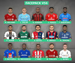 Borussia vfl 1900 mönchengladbach gmbh is responsible for this page. Pes 2017 New Facepack V56