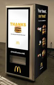 Mcdonalds Vending Machine Japan Classy McDonald's New Big Mac ATM Requires Zero Human Interaction Eater