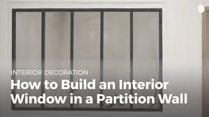 how to build an interior window in a parion wall diy projects you