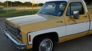 1978 Chevy Big Ten pickup truck - YouTube