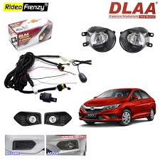 Buy Dlaa Honda City 2017 Fog Lamps With Wiring Kit Switch At Best