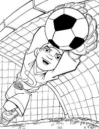 Free Printable Soccer Coloring Pages For Kids Nature Coloring