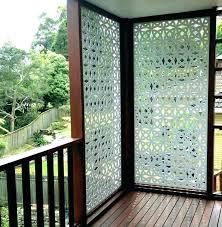 deck screens backyard privacy screen ideas for outdoor patio edmonton deck screens
