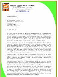 Audit Engagement Letter Management Representation Letter Example