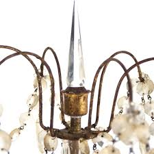 french country antique bronze crystal chandelier table lamp kathy kuo home