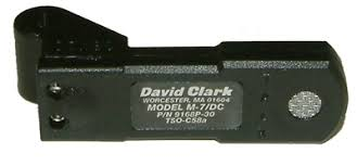 david clark m 7 dc amplified electret microphone mypilotstore com david clark m 7 dc amplified electret microphone