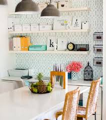 office shelves ikea. Sneak In A Mini-home Office The Kitchen With Lack Shelves Ikea F