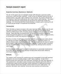 Sample Report Template For Business Business Report Example For Students Impression Photos Formal