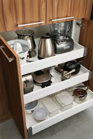 Drawers For Kitchen Cabinets Kitchen Cabinets With Roll Out Drawers Monsterlune