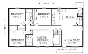 Small Picture 50 Simple Small House Floor Plans Ranch Ranch House Plans Small