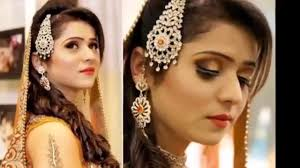 latest bridal hairstyle trend 2016 for stani and indian brides video dailymotion