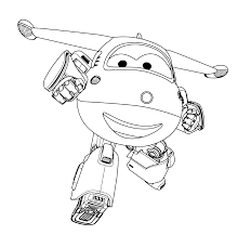 Super Wings Coloring Page Jeromellll