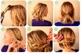 Peinados Recogidos Paso A Paso 1001 Consejos Recogidos Pelo Corto Faciles