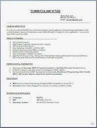 Best Resume Template 2018 Cool 48 Resume Format Images Malawi Research